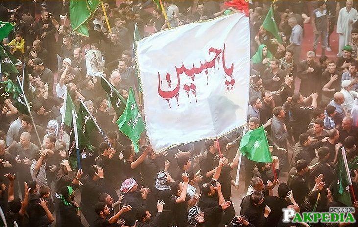 Muharram mourning in Karbala