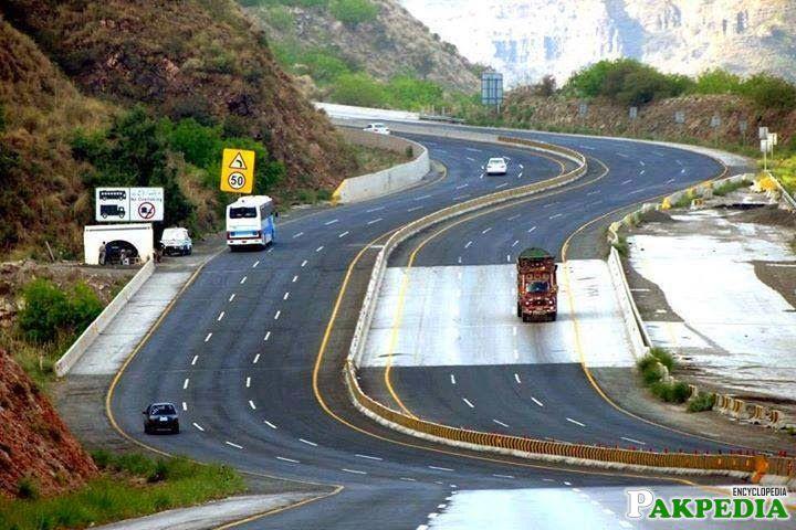 Chakwal Motorway Image