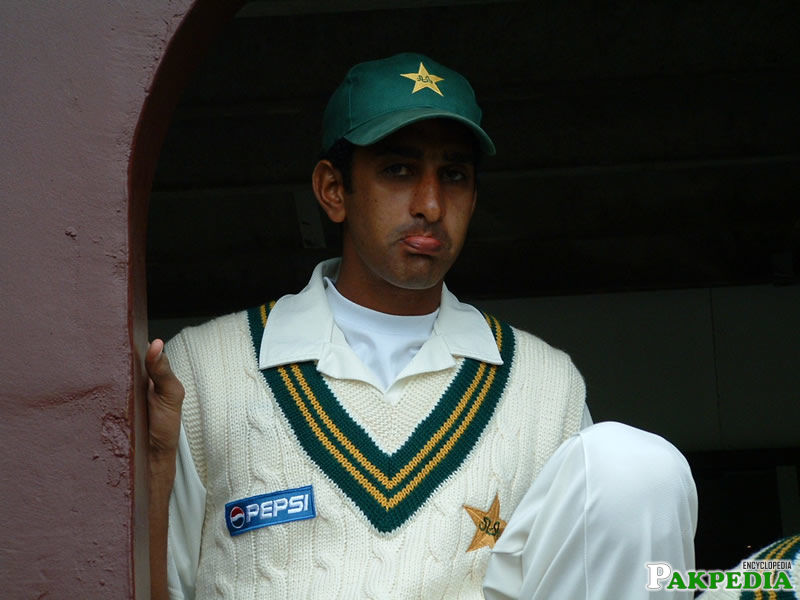 Shabbir Ahmed in Test Match