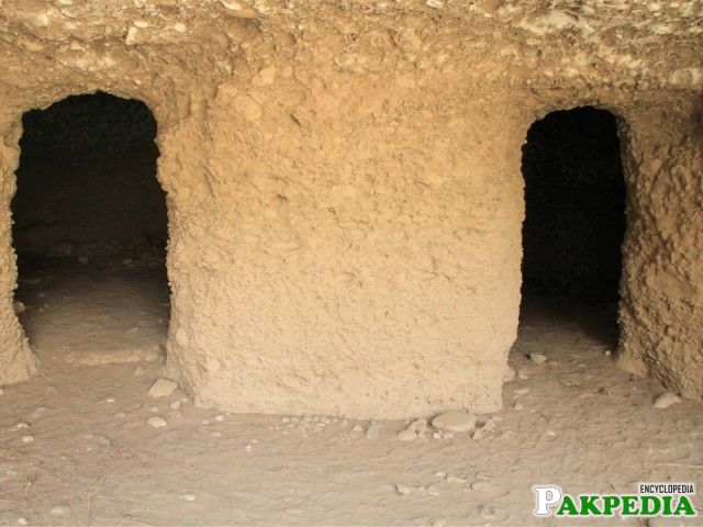 Who Built These Caves: