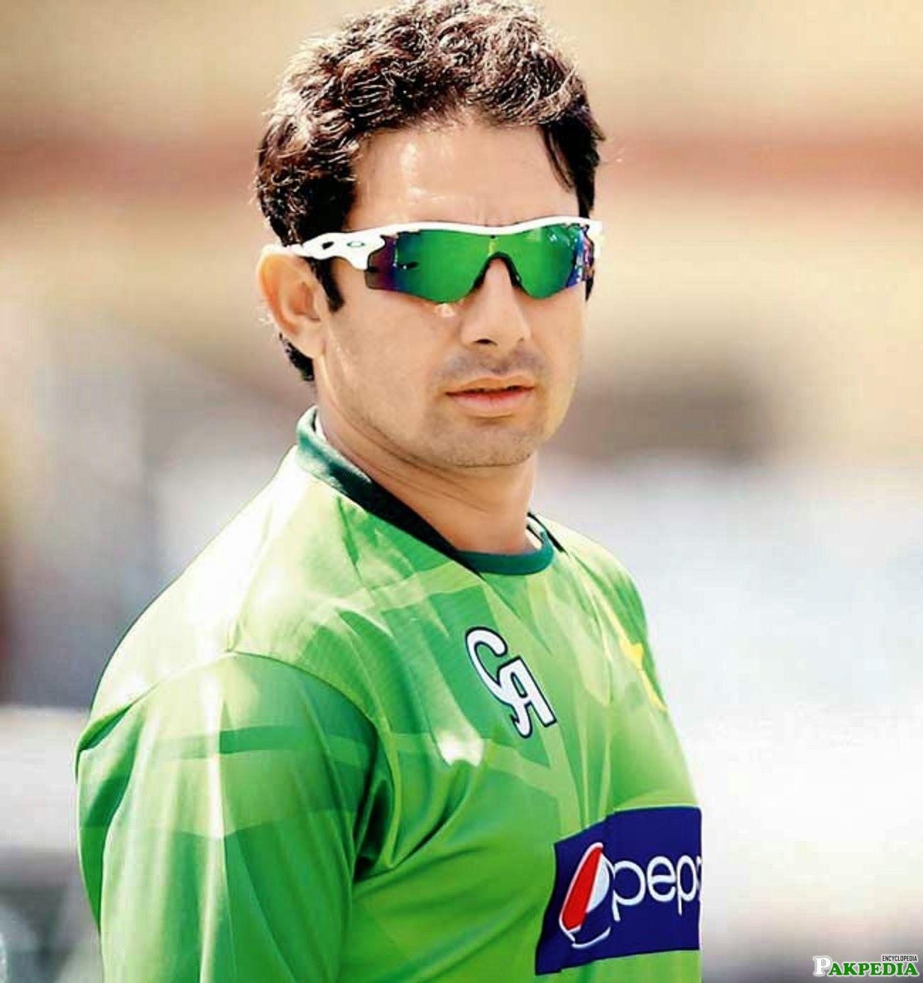 Nice Photo of Saeed Ajmal