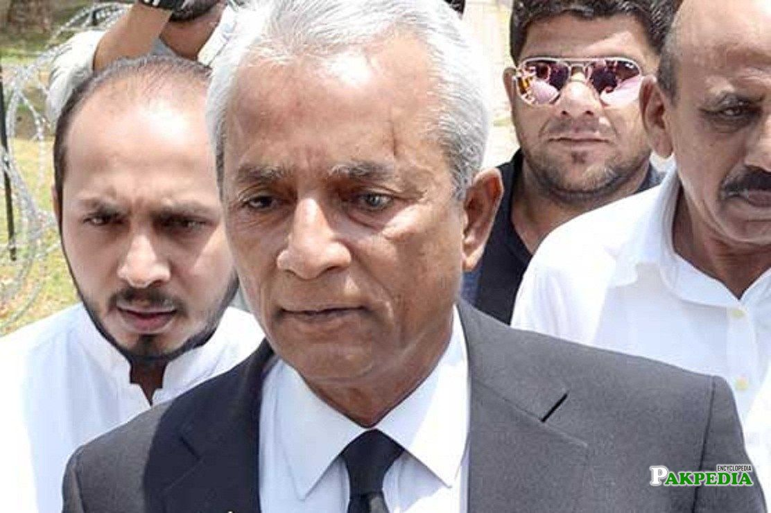 pakistani politician and lawyer Nehal hashmi