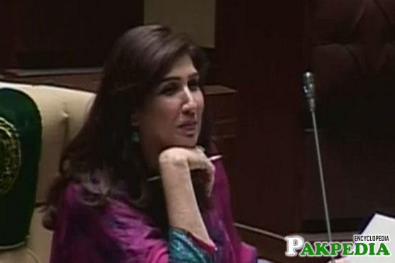 Shehla Raza in Sindh Assemebly