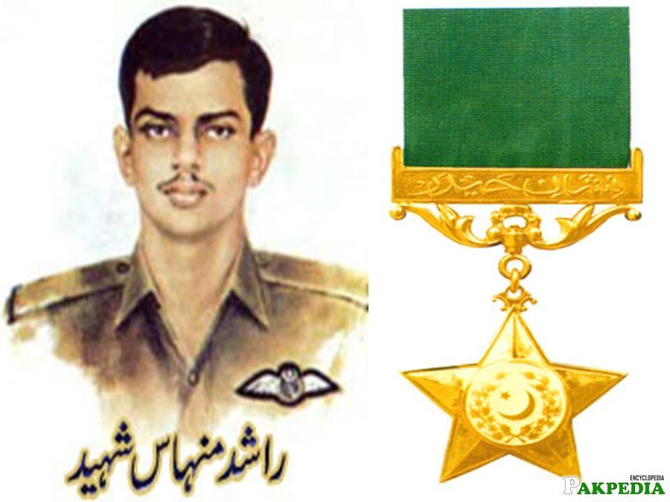 Rashid Minhas National Hero