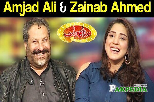 Zainab Ahmad Family