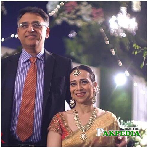 Asad Umar Family