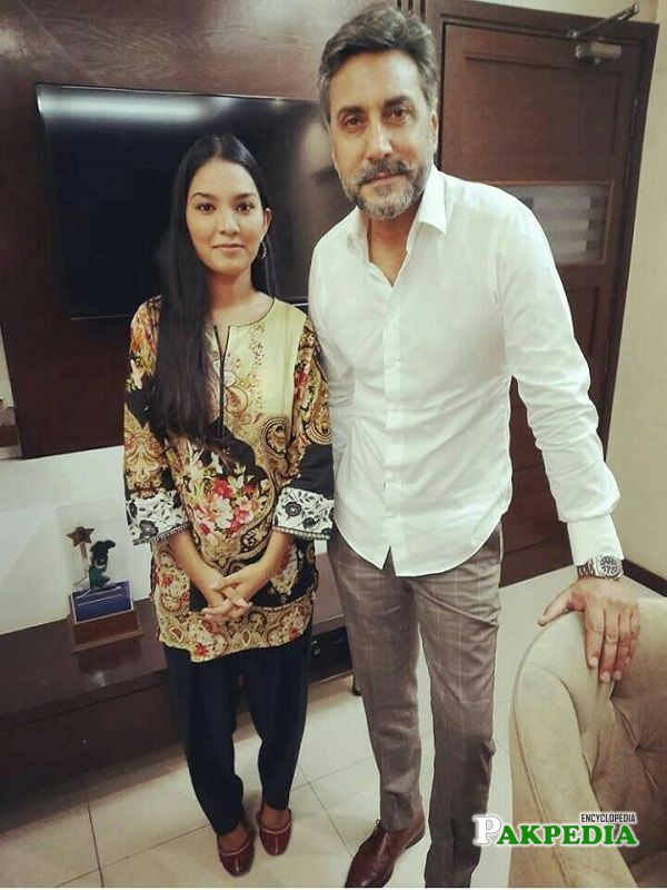 Rosemary with Adnan Siddiqui at MD productions