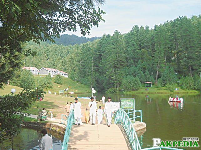 Boating in the Banjosa Lake, Azad Kashmir