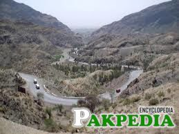 Way through from Khyber Pass