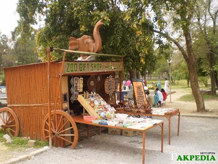 Gift shop Islamabad Zoo