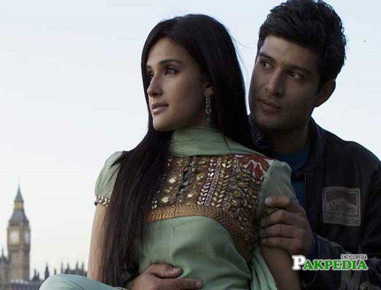 Zara Sheikh on sets of 'Honour killing'