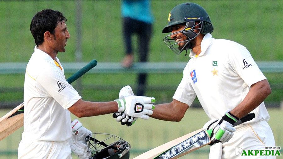 Shan Masood and Younis khan