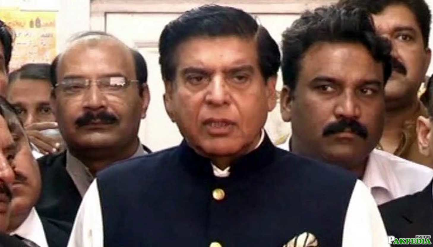 Raja Pervaiz Ashraf Minister for Water and Power