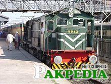 Khyber Mail at Rawalpindi Station