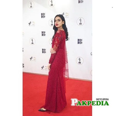 Sabrina Naqvi at the red carpet