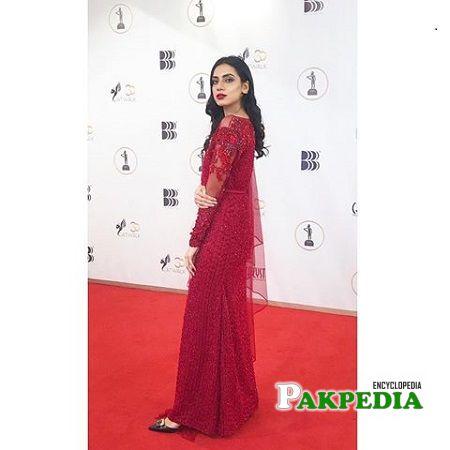 Sabrina Naqvi at the red carpet