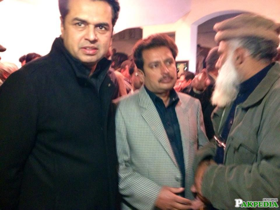 Muhammad Tallal Chaudry With other Politician