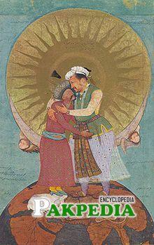 Prince Saleem with Shah iran