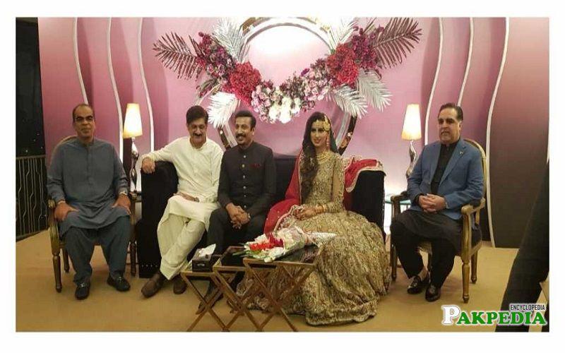 Madiha Naqvi Family