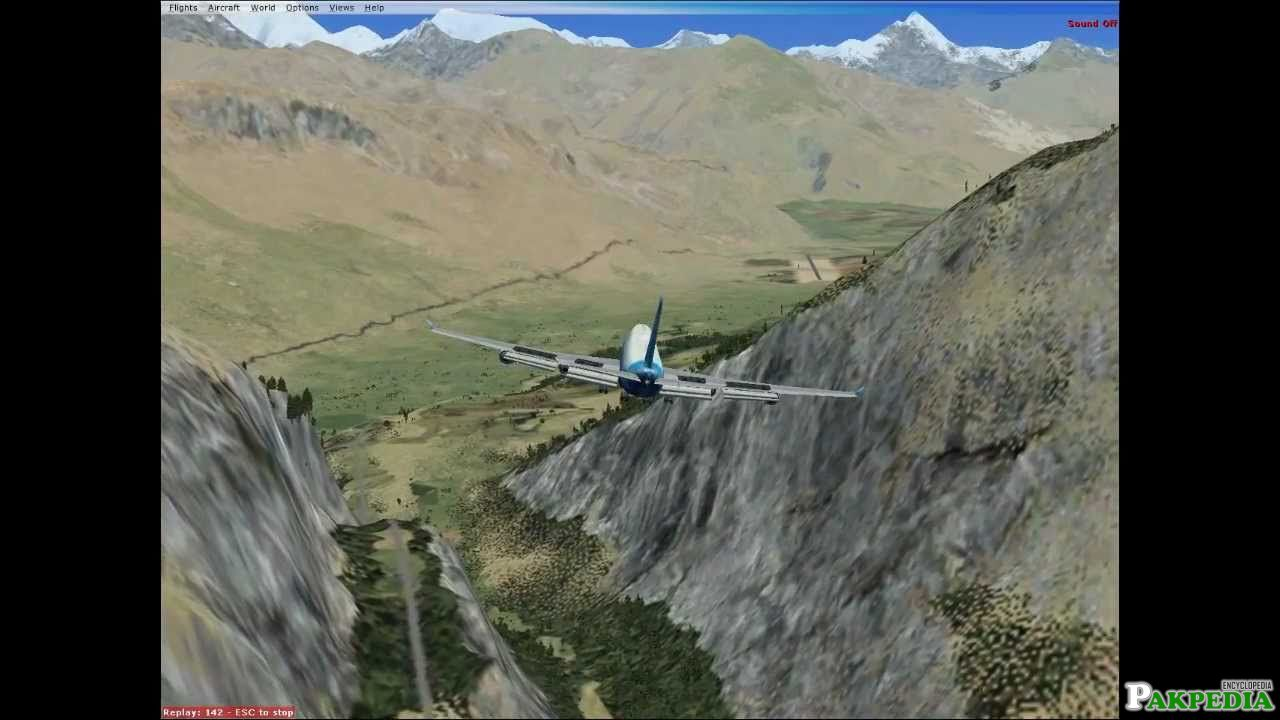 Gilgit Airport Over View
