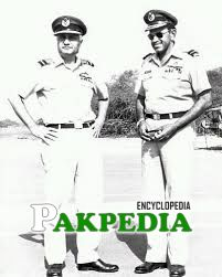 Air Chief Marshal Zulfiqar Ali Khan with Air Marshal Azim Daudpota