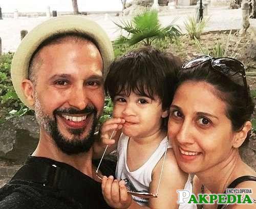 Family photo of Ali Kazmi