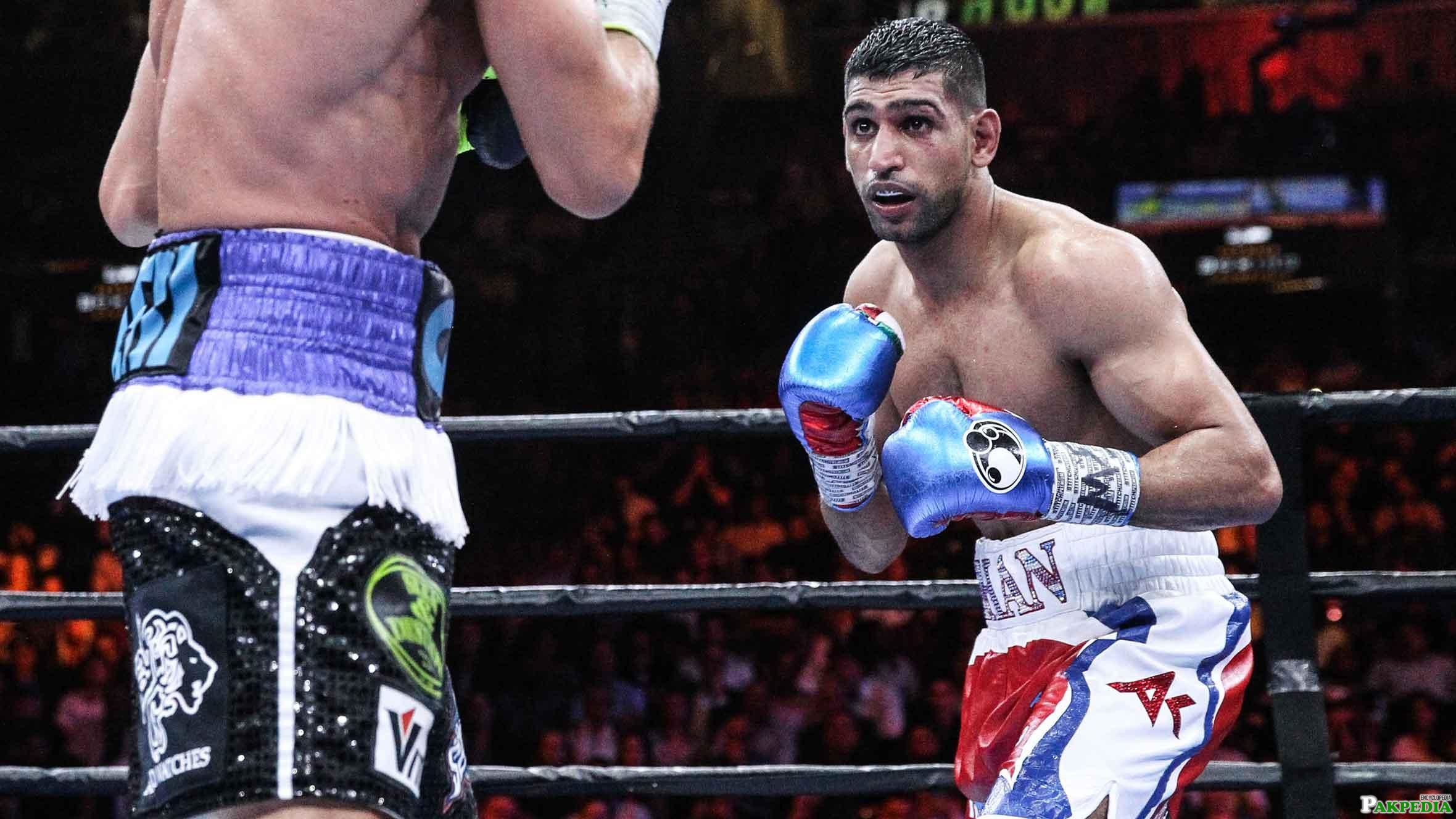 Amir Khan in Action
