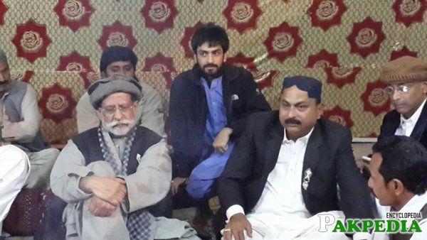 Mian Soomro Pakistani Sindh Region Leader