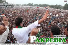 Imran khan in Mianwali