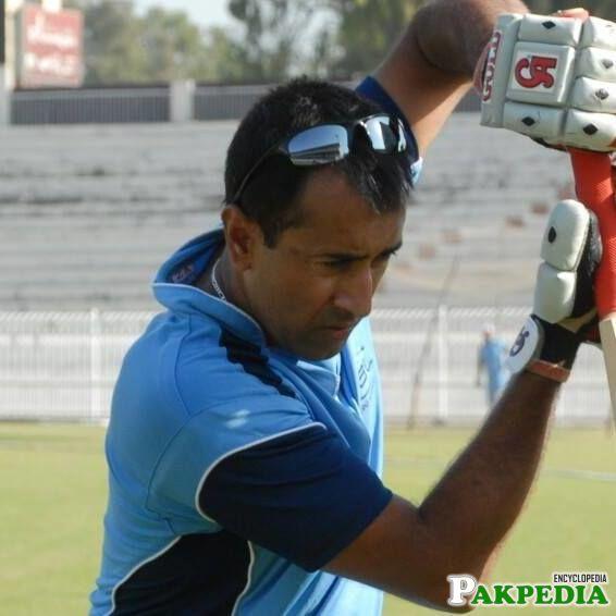 Saeed Bin Nasir Practicing