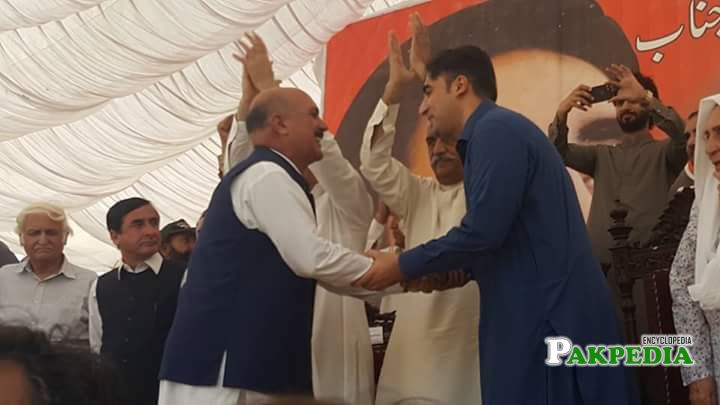 Meeting with Bilawal Bhutto in a Jalsaa