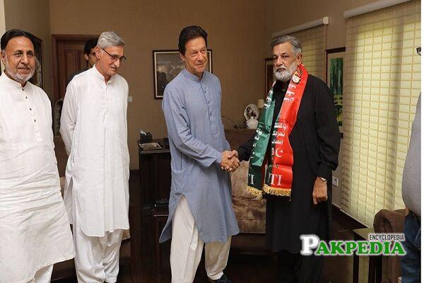 Abdul Rashid Godil join PTI