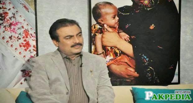 Rehmat Saleh Baloch in TV Show
