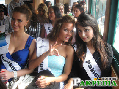 During Miss Friendship IN 2009