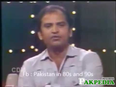 Saleem Nasir in live show