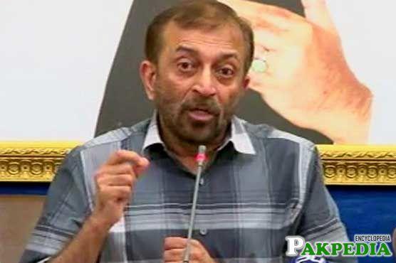 Farooq Sattar MQM Leader