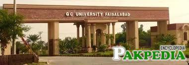 Government College University Faisalabad   Pakpedia