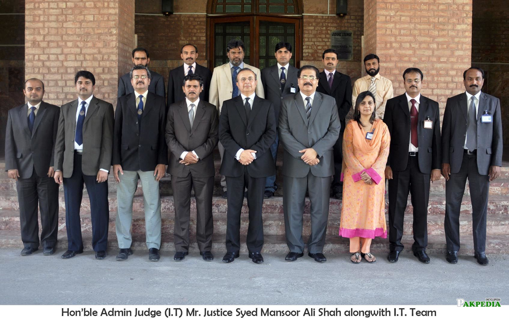 with IT staff of LHC