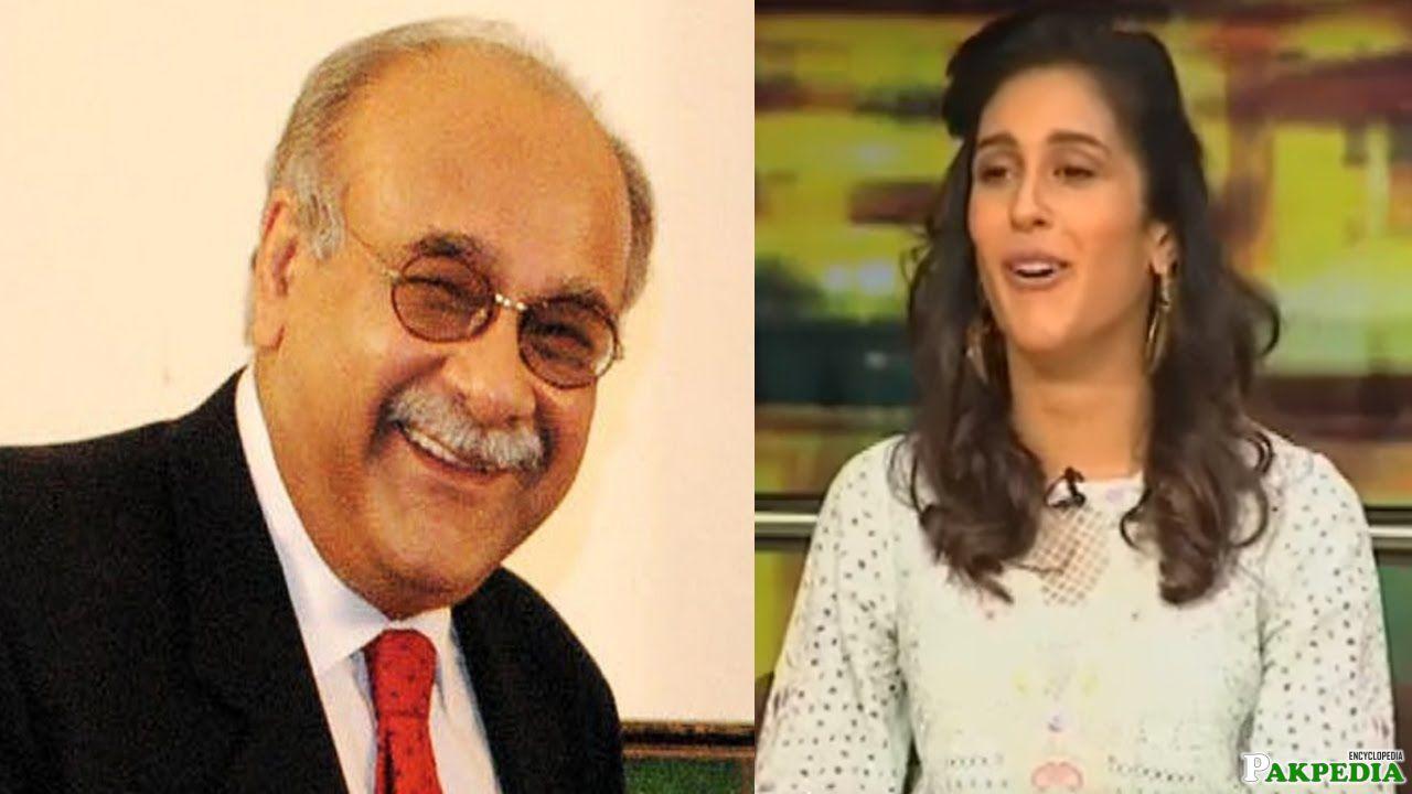 Mira Sethi copying her Father