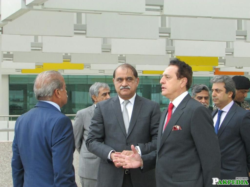 visited Terminal Building of New Islamabad