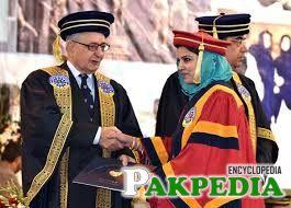 Khan Achakzai at University