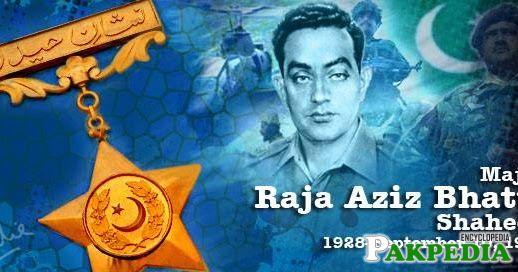 Raja Aziz Bhatti award