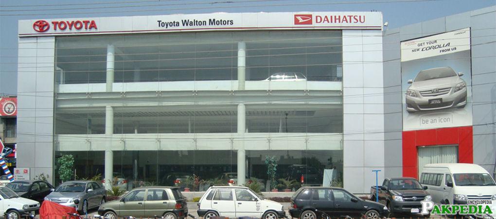 Toyota Pakistan in Lahore
