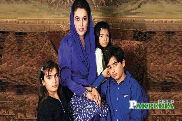 Benazir Bhutto Family