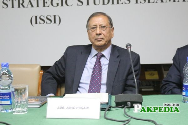 Former Ambassador Javid Hussain