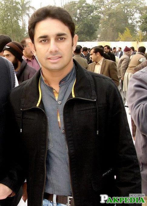 Saeed Ajmal in a Ceremony