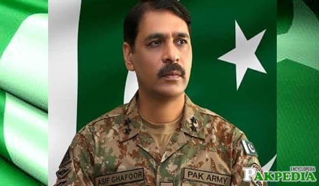 Asif Ghafoor is a brave officer