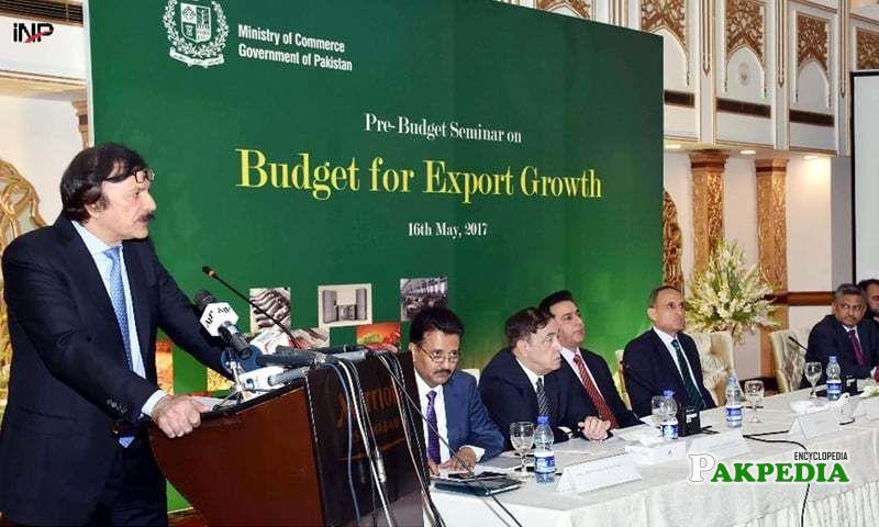 In Pre - Budget Seminar