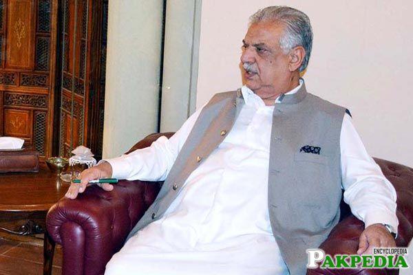 Iqbal Zafar Jhagra Governor KPK