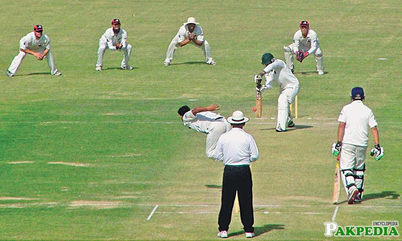Test Match Rawalpindi Stadium